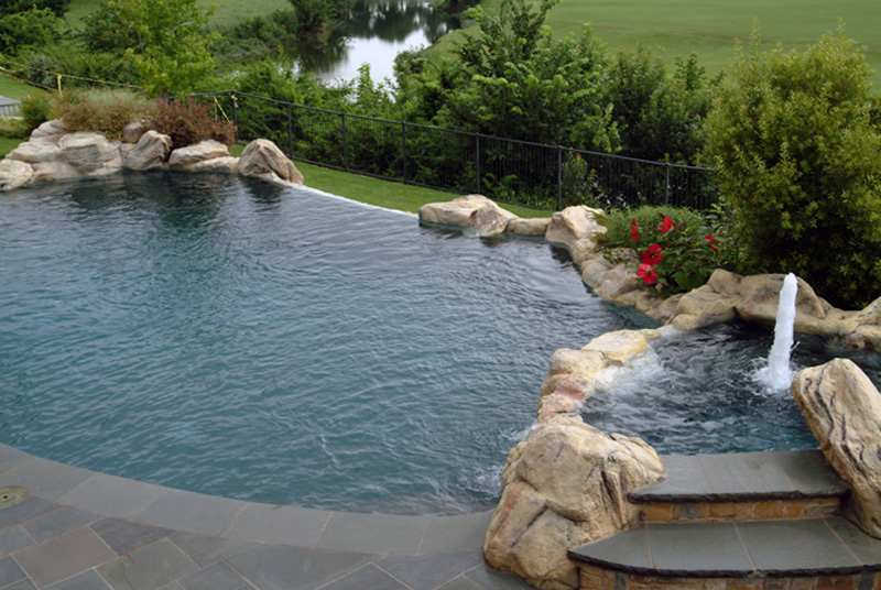 Excellent Stone Infinity Edge Pool 800 x 536 · 223 kB · jpeg