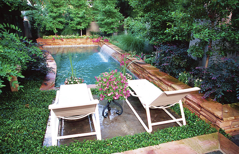 Backyard Landscaping With Pool : Perfect Small Backyard Pool Landscape Ideas 800 x 515 ? 389 kB