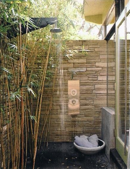 Bonick Landscaping Outdoor Showers
