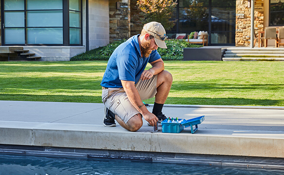 D Magazine Names Bonick Landscaping Best In Pool Maintenance