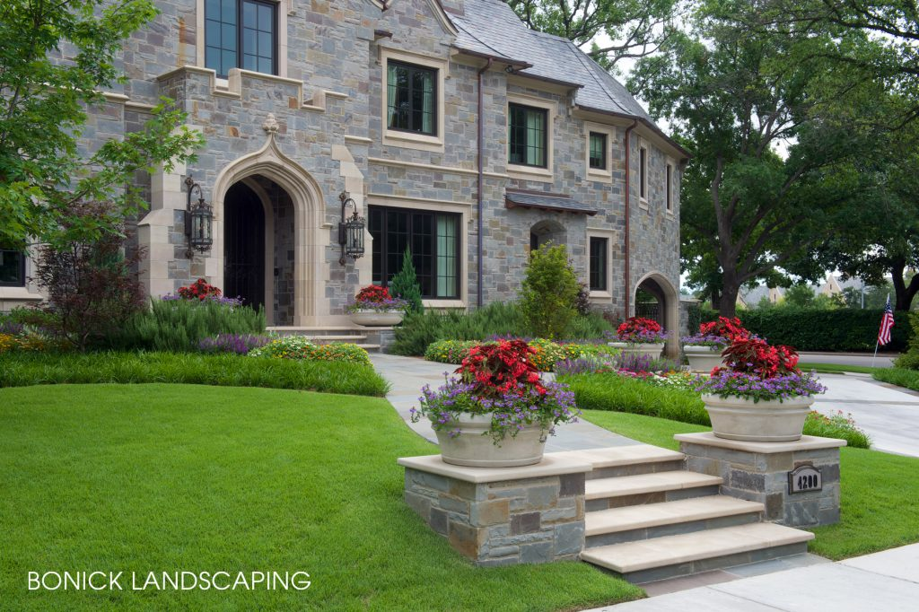 "Bonick Landscaping 5 Steps for Better Landscaping ""Curb Appeal"""