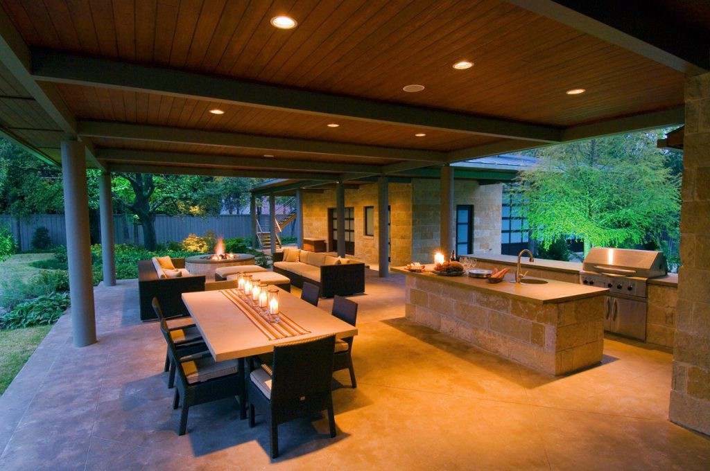Bonick Landscaping Distinctive Dallas Outdoor Entertaining