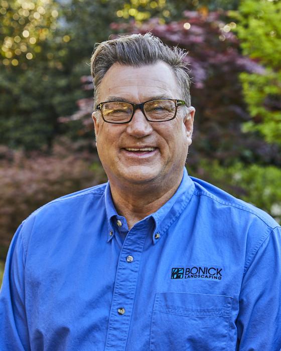 Bonick Landscaping team member Joe Horten