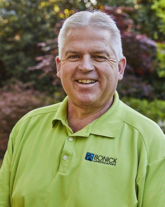 Bonick Landscaping team member Steve Wiggin