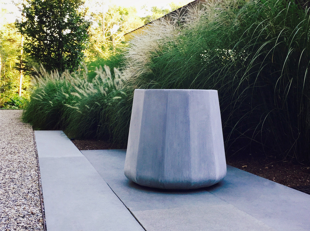 Bonick Landscaping Adding Color with Architectural Planters